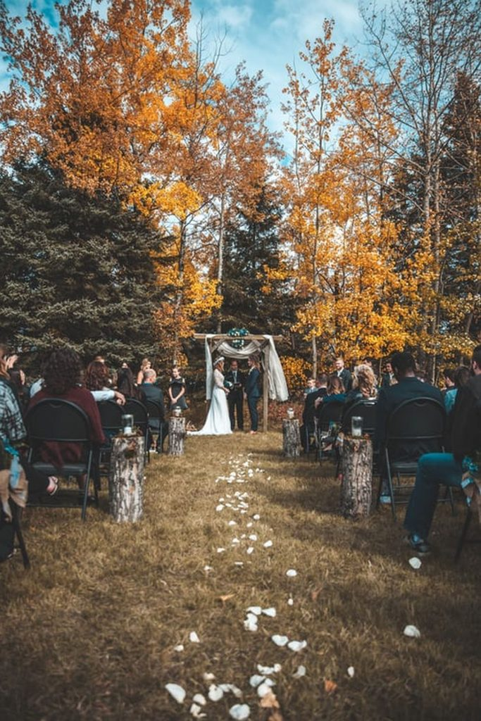 Melbourne Home Wedding Reception
