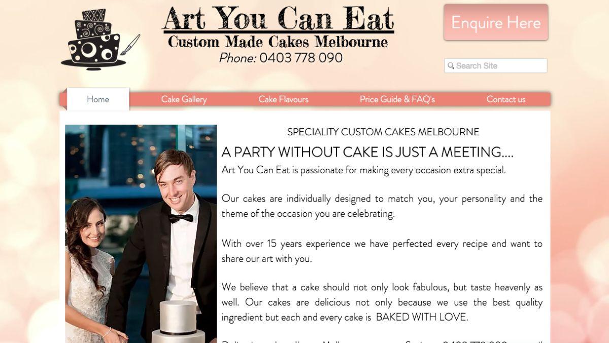 MELB Wedding Cakes