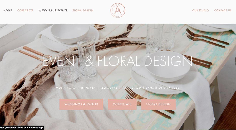 Melbourne wedding stylists