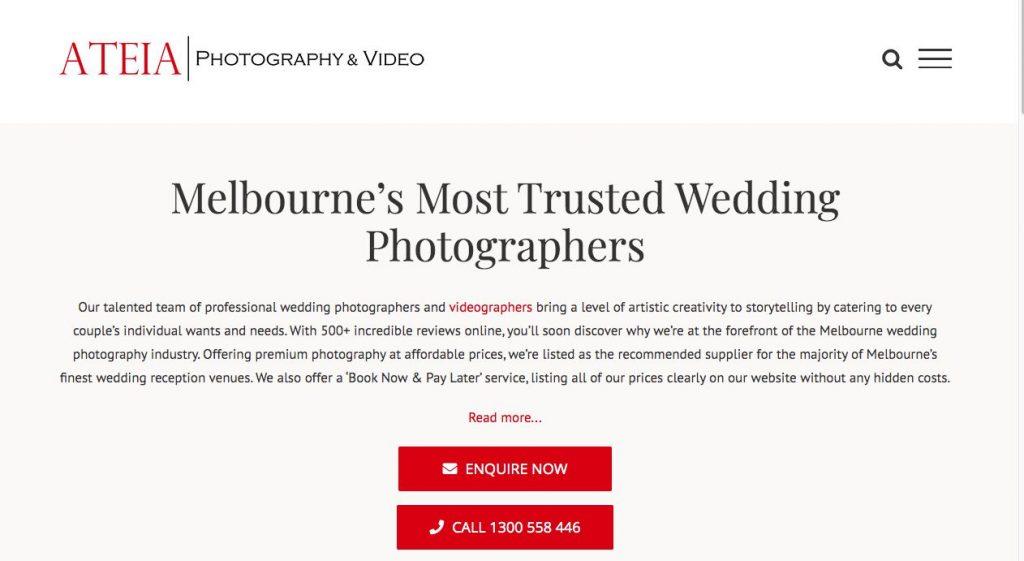 Melbourne Professional Photographer