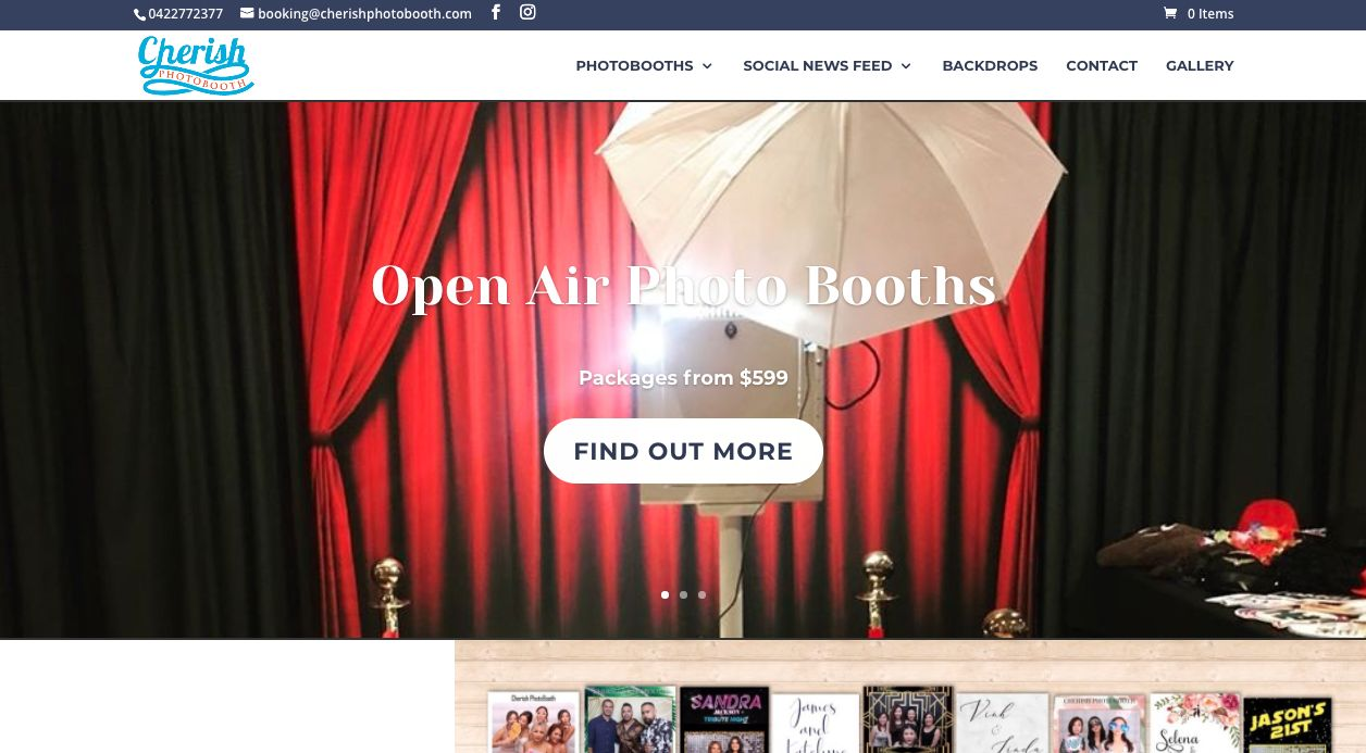 Booths for hire weddings Melbourne