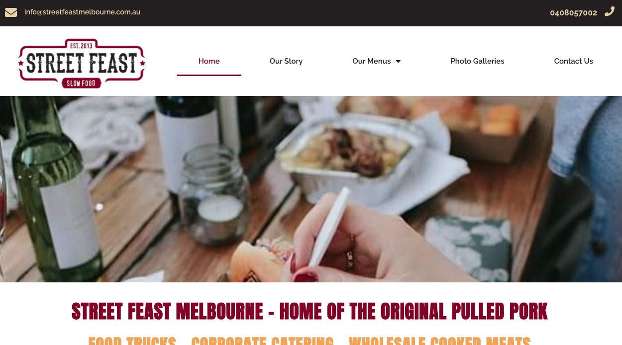 Melbourne wedding catering