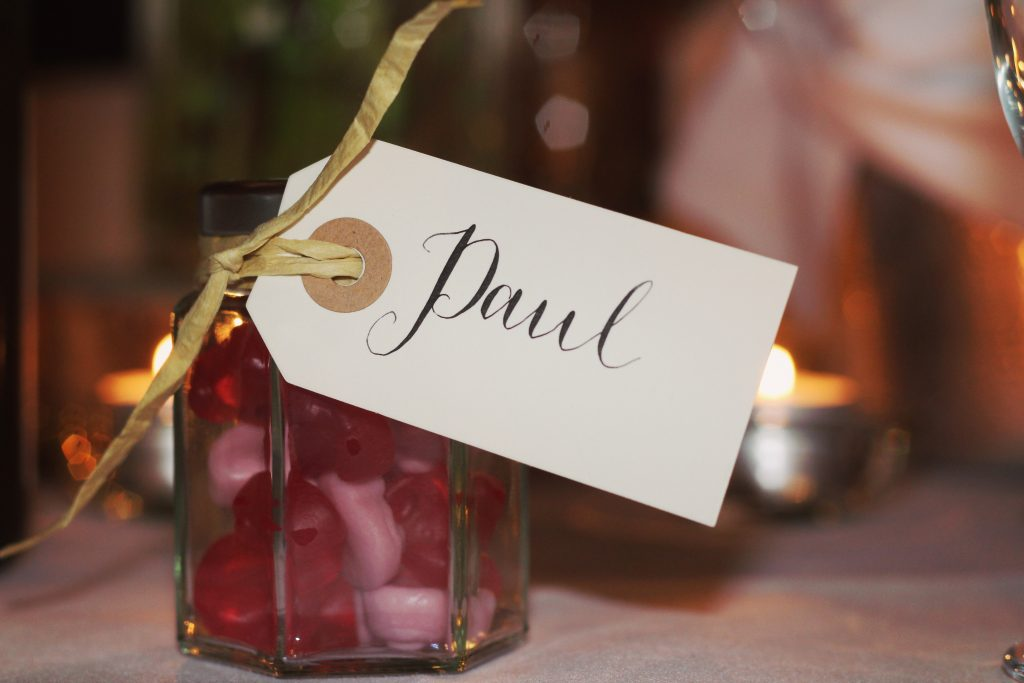 Wedding Favours Idea