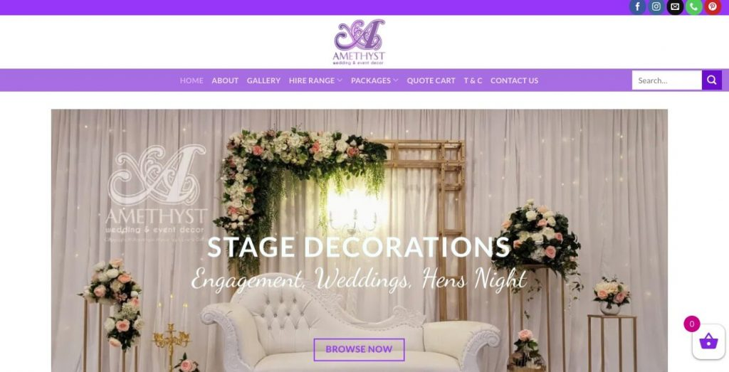 Melbourne Wedding Hire