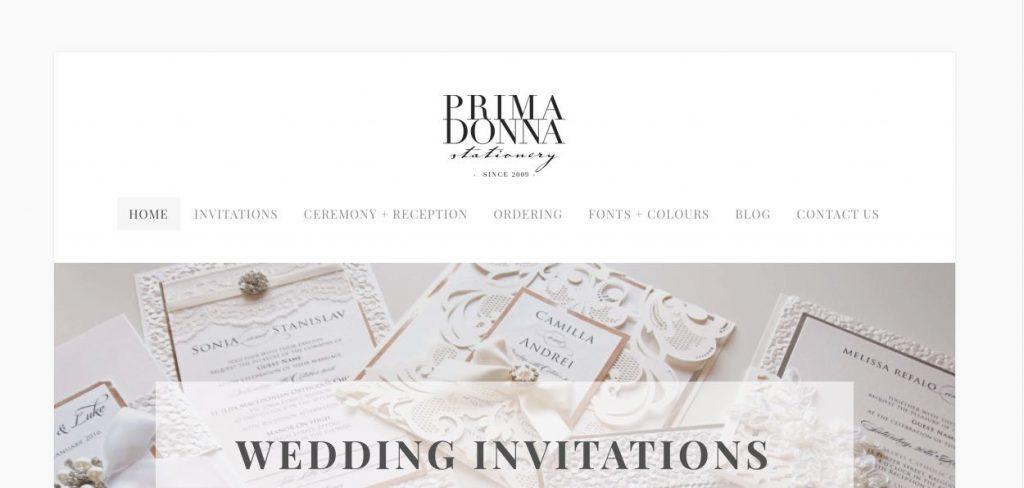 Melbourne Wedding Invitation