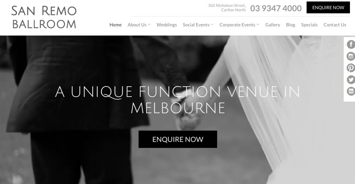 Melbourne Wedding Accommodation