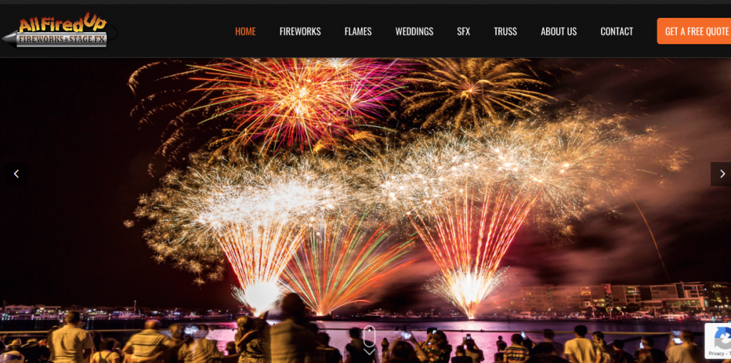 Wedding Fireworks Supplier Melbourne