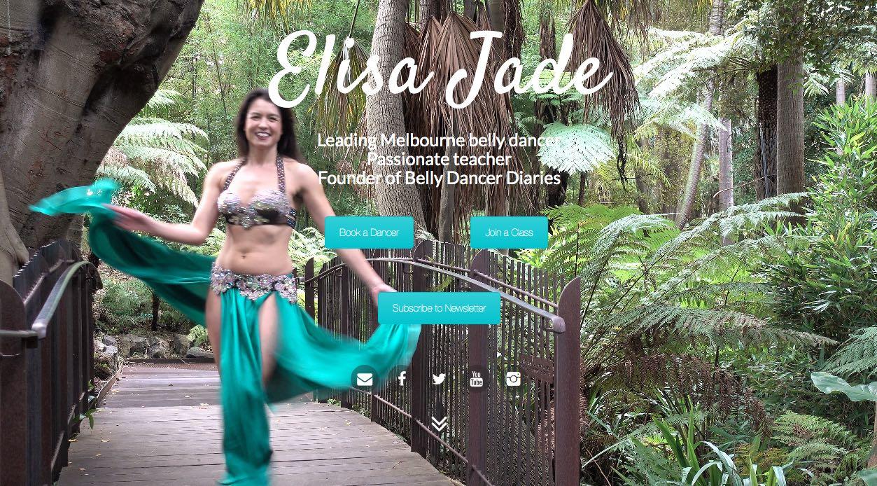 Elisa Jade Belly Dancer Melbourne