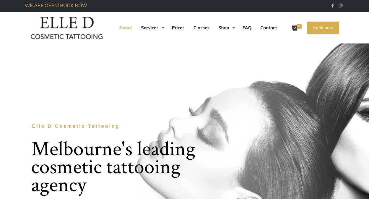 Elle D. Cosmetic Tattooing - Microblading Salon Melbourne