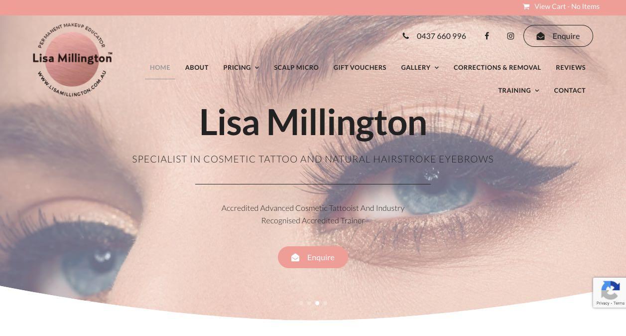 Lisa Millington Microblading Salon Melbourne