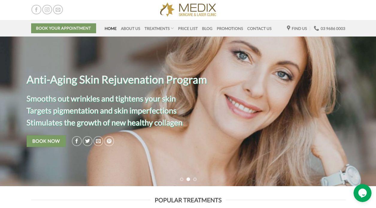 Medix Skincare - Laser Pigmentation Removal Melbourne