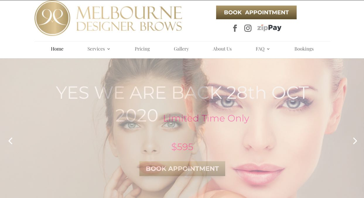 Melbourne Designer Brows - Microblading Salon