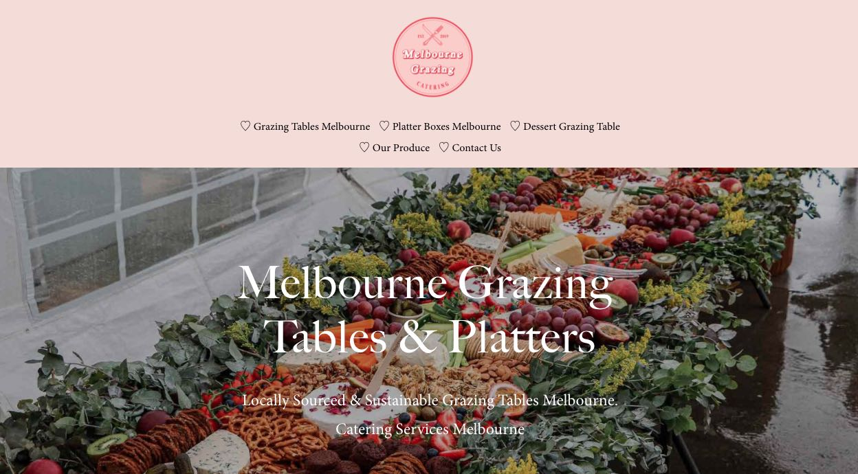 Melbourne Grazing Tables