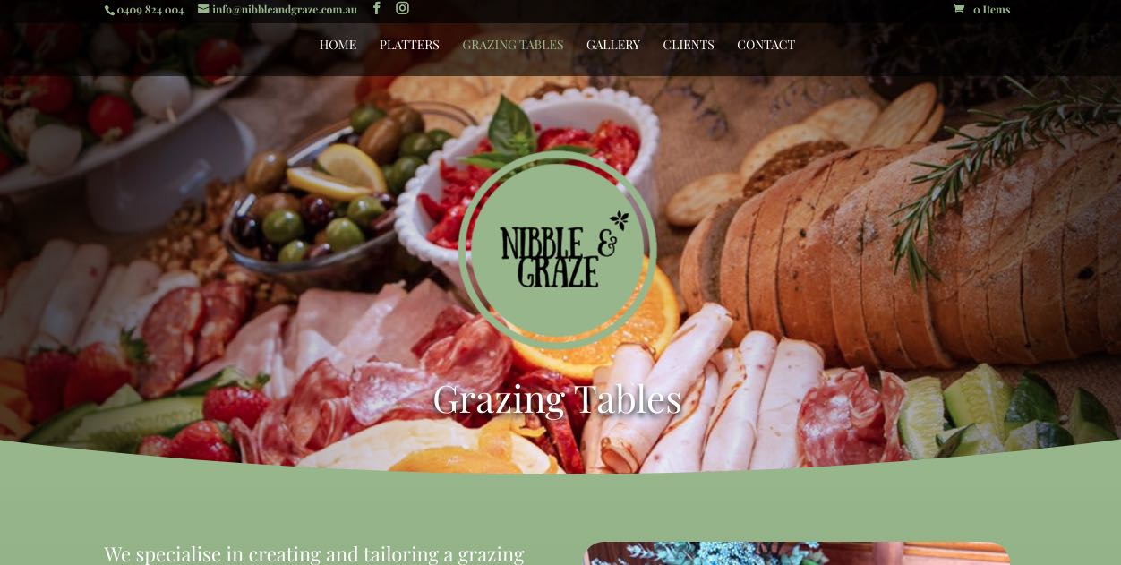 Nibble and Graze - Grazing Table Melbourne