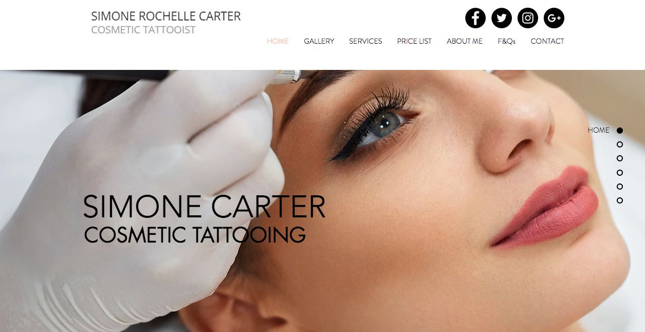 Simone Carter Cosmetic Lip Tattoo Salon Melbourne