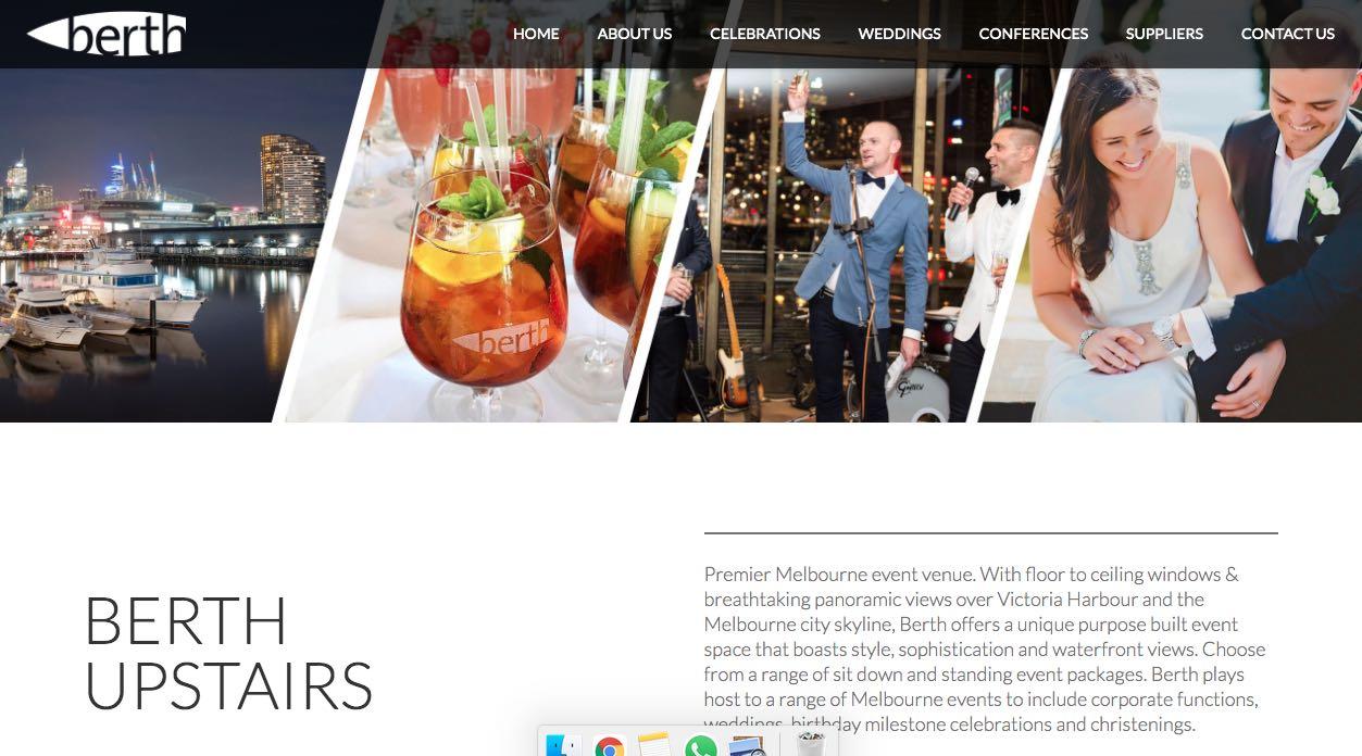 Berth Engagement Party Venue Melbourne