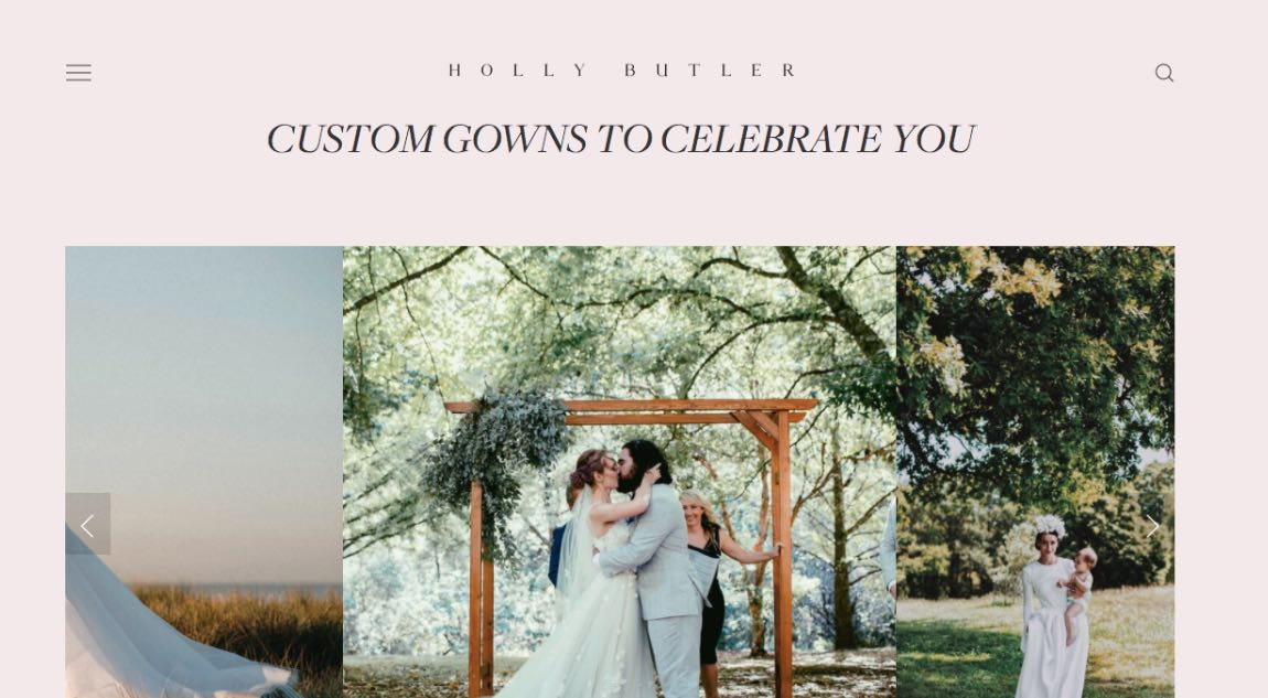 Holly Butter Couture Wedding Dress Maker Melbourne