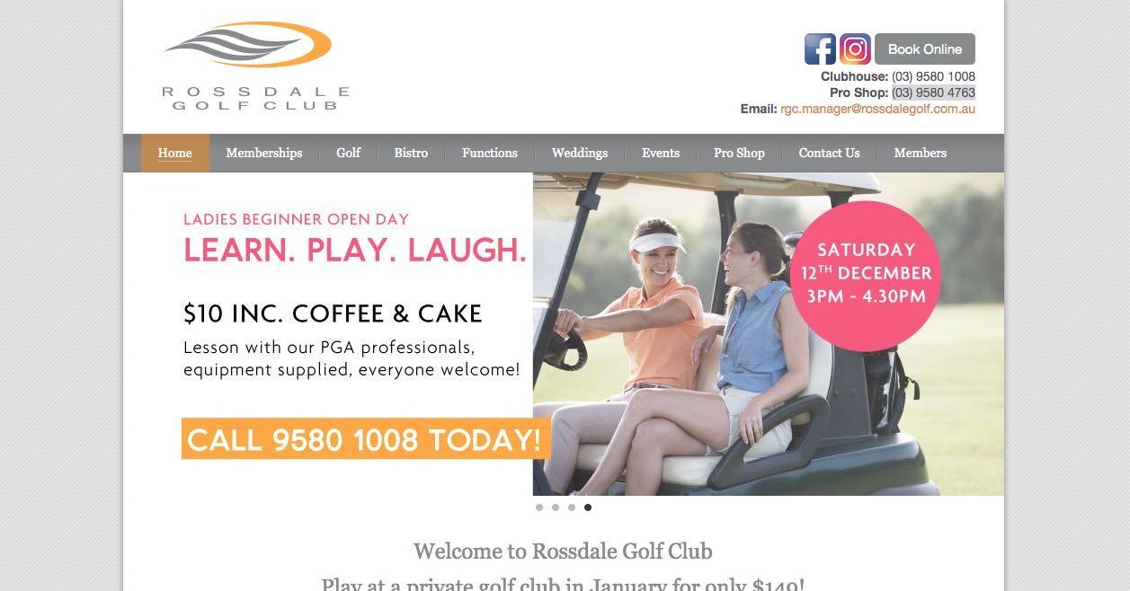 Rossdale Gold Club - Engagement Party Venue Melbourne
