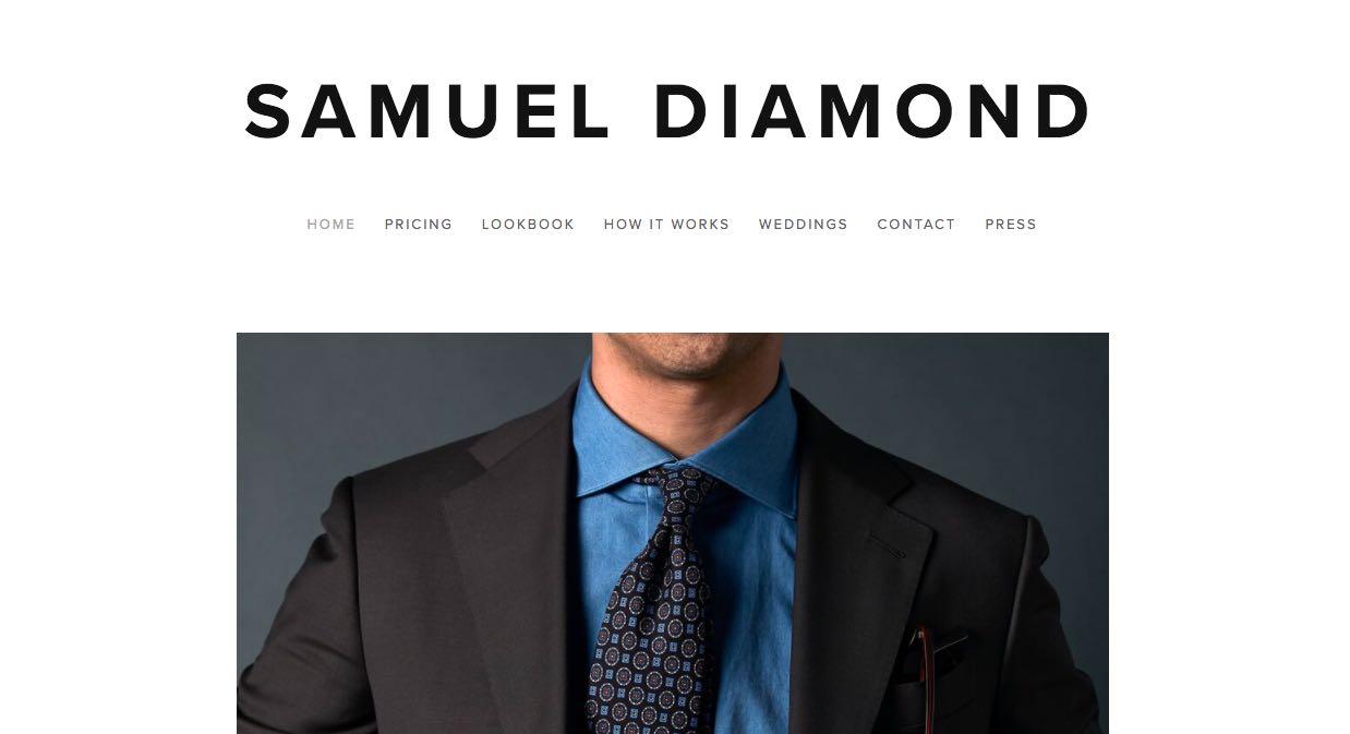 Samuel Diamond Suit Tailors Melbourne