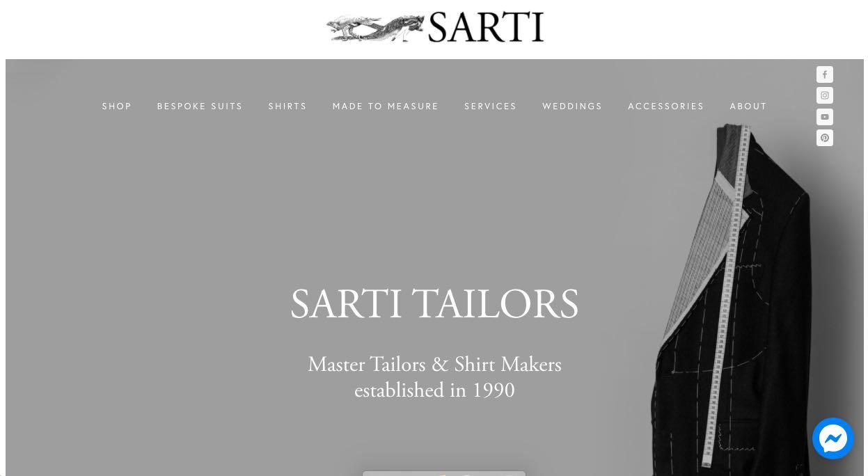 Sarti Suit Tailors Melbourne