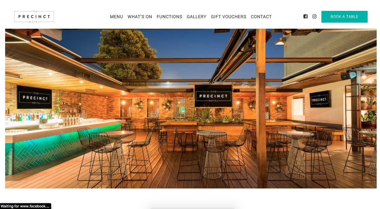 The Precint Hotel - Engagement Party Venue Melbourne