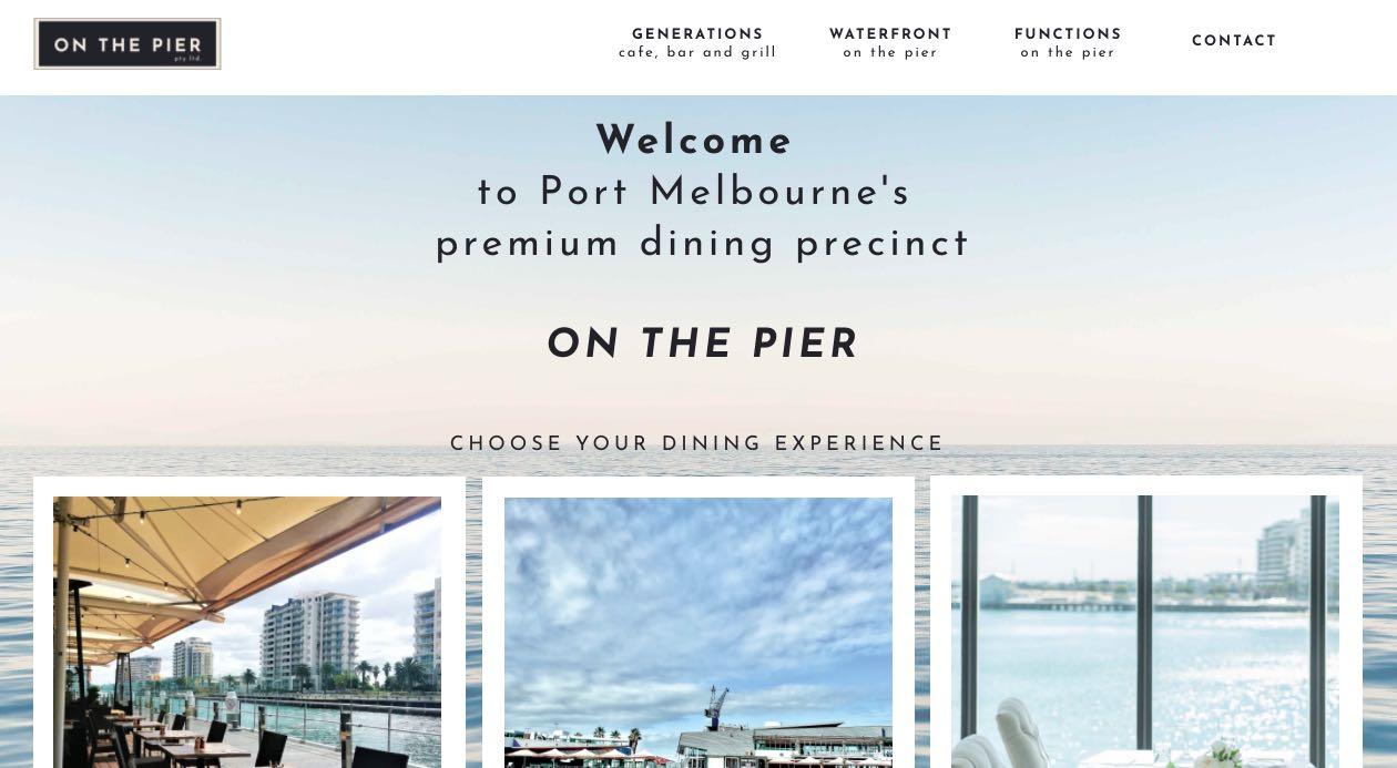 Waterfront On The Pier Engagement Party Venue Melbourne