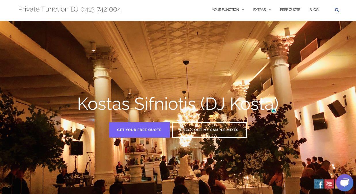 DJ Kosta Wedding DJ Sydney