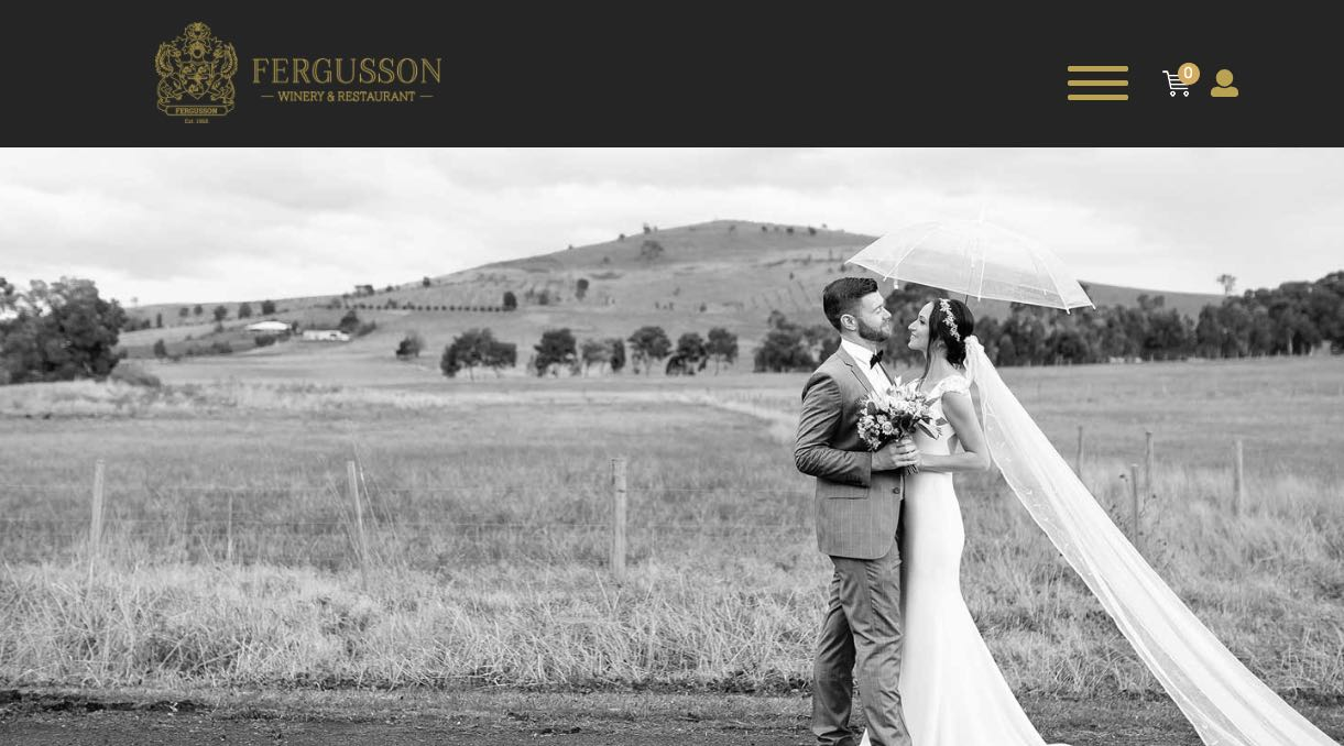 Fergusson Winery - Wedding Reception Venue Yarra Valley