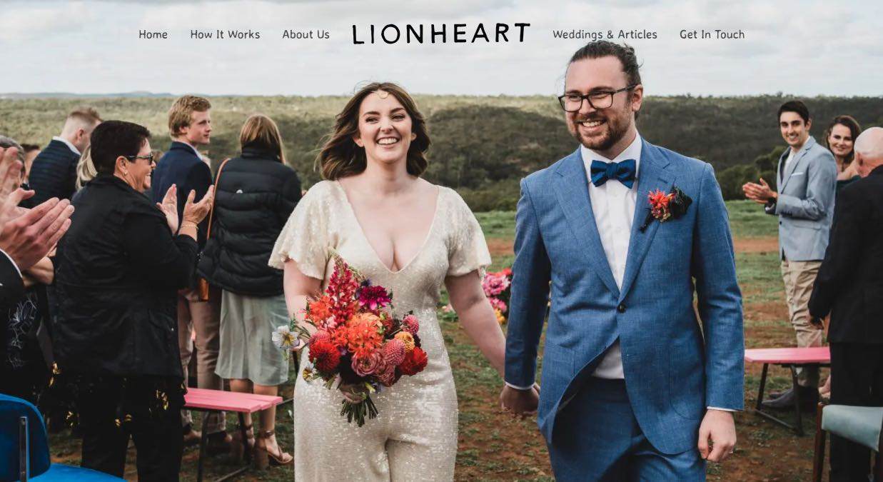 Lion Heart Wedding Photography Yarra Valley