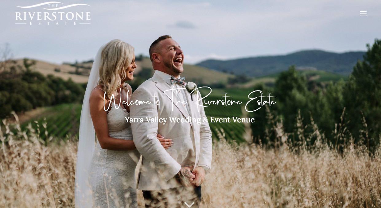 The Riverstone Estate Wedding Reception Venue Yarra Valley