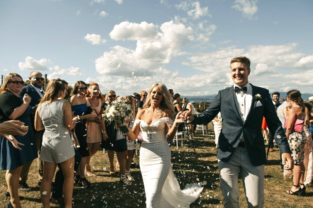 just-married-couple-at-vines-of-yarra-valley