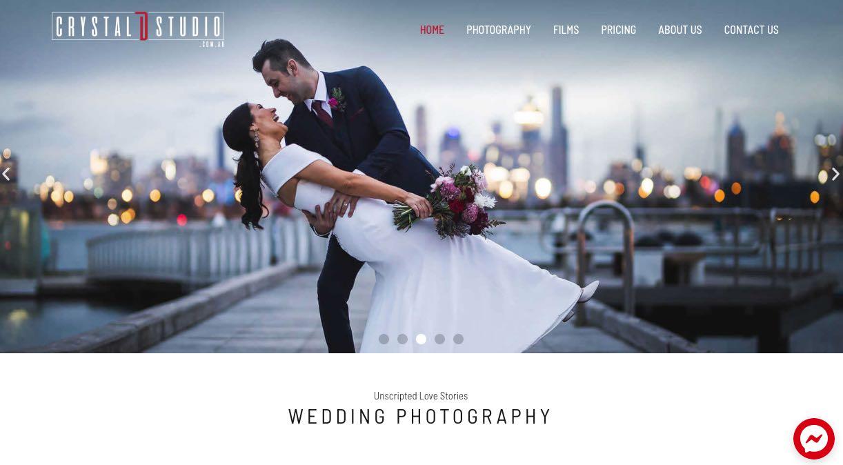 Crystal D. Studio Wedding Videographer Mornington Peninsula