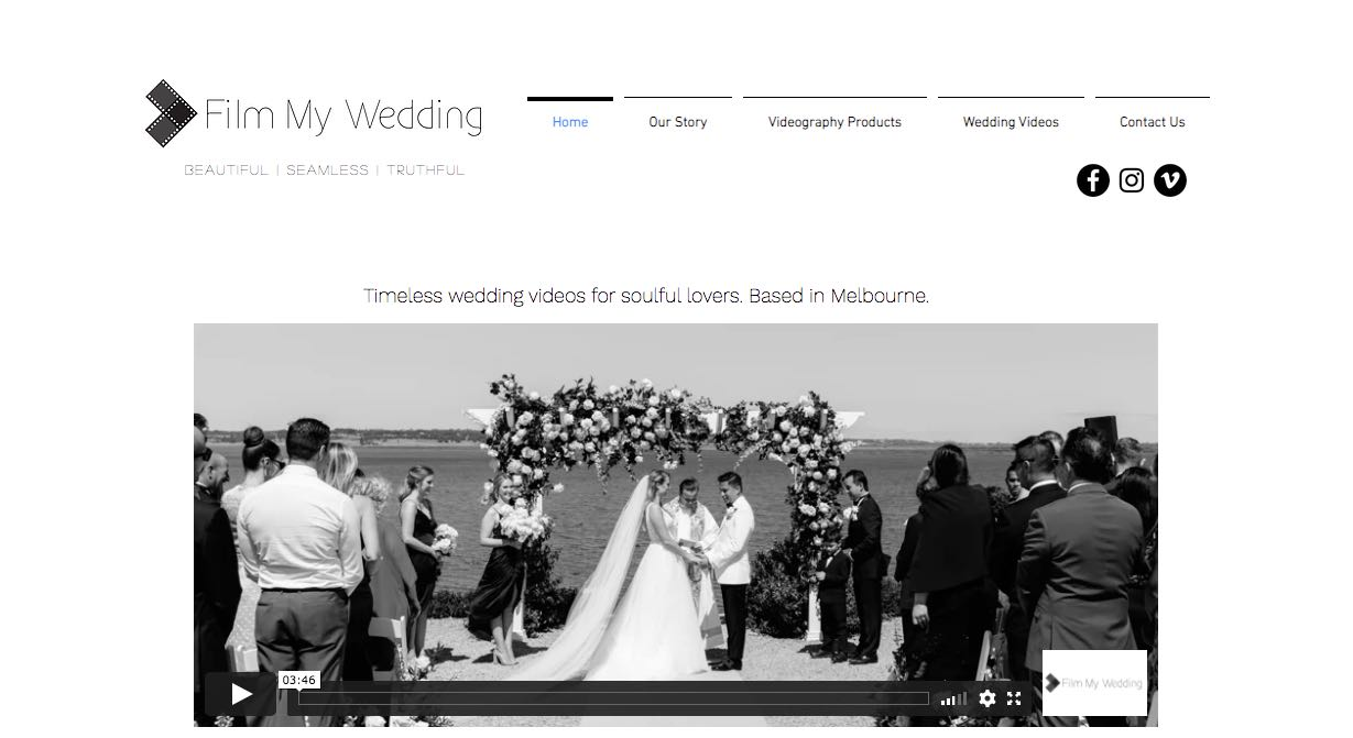 Film My Wedding Videographer Mornington Peninsula