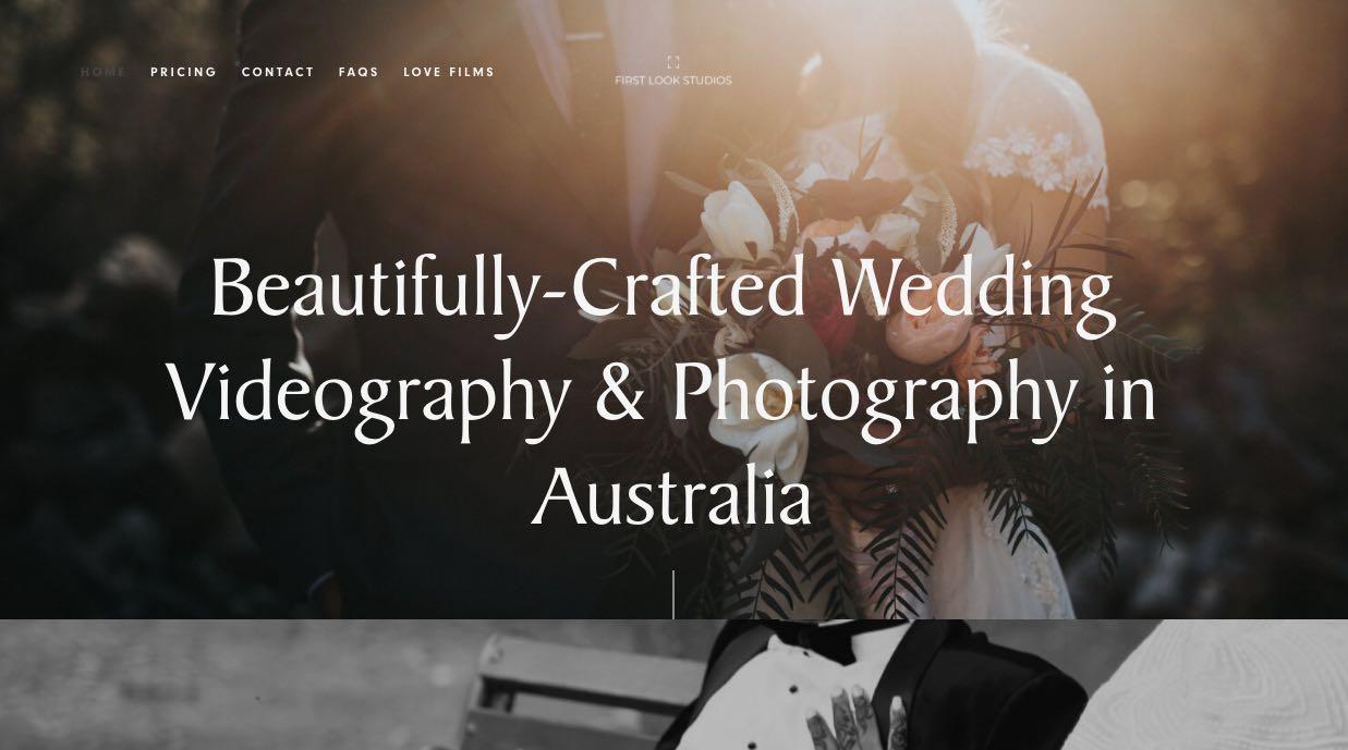 First Look Studios Wedding Videographer Mornington Peninsula