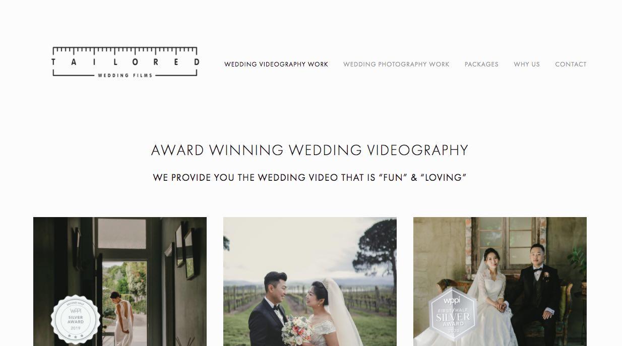 Tailored Wedding Films - Wedding Videographer Yarra Valley