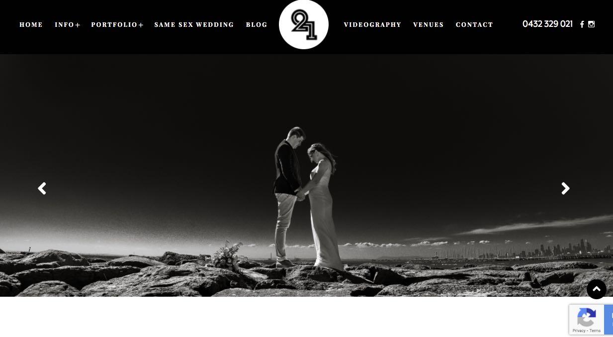 Twenty One Studio - Wedding Videographer Mornington Peninsula