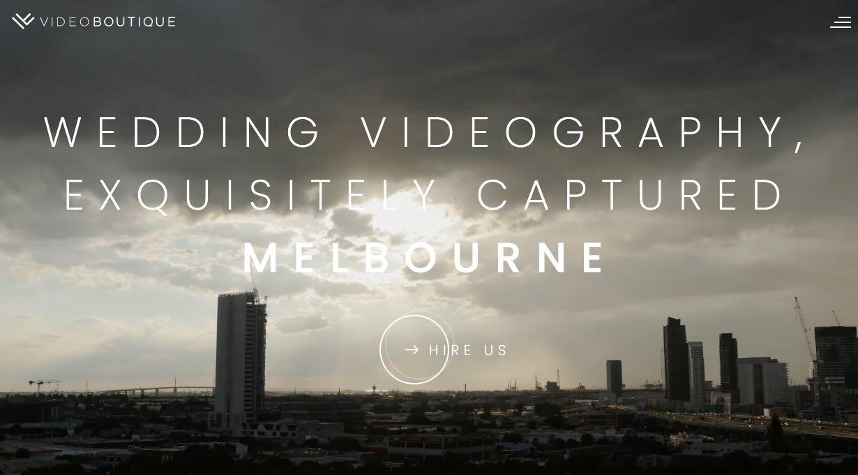 Videoboutique Wedding Videographer Mornington Peninsula
