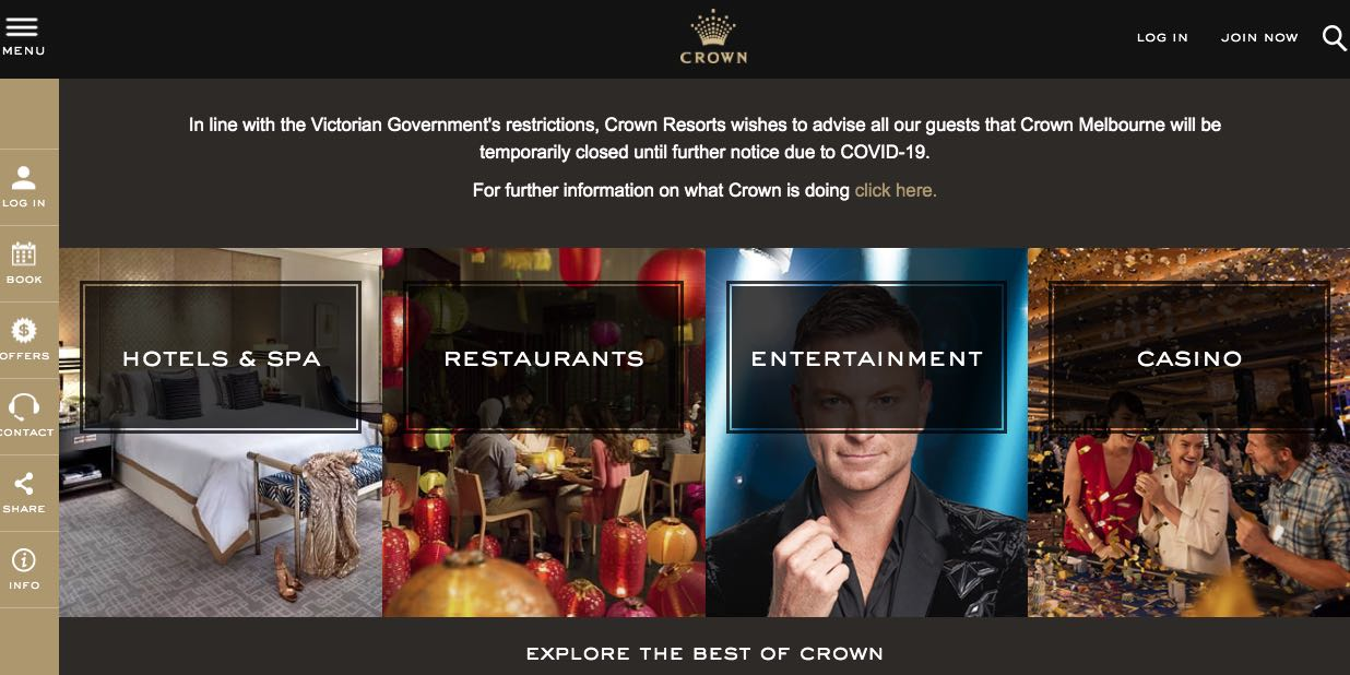 Crown Hotels Accommodation and Hotel Burwood Melbourne