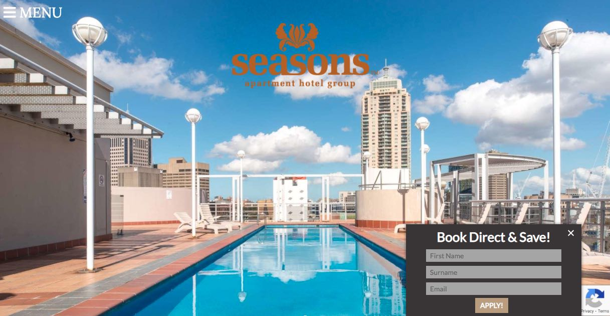 Seasons Apartment Hotel Accommodation Brigthon Melbourne
