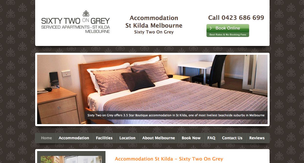 Sixty Two On Grey Accommodation and Hotel Burwood Melbourne
