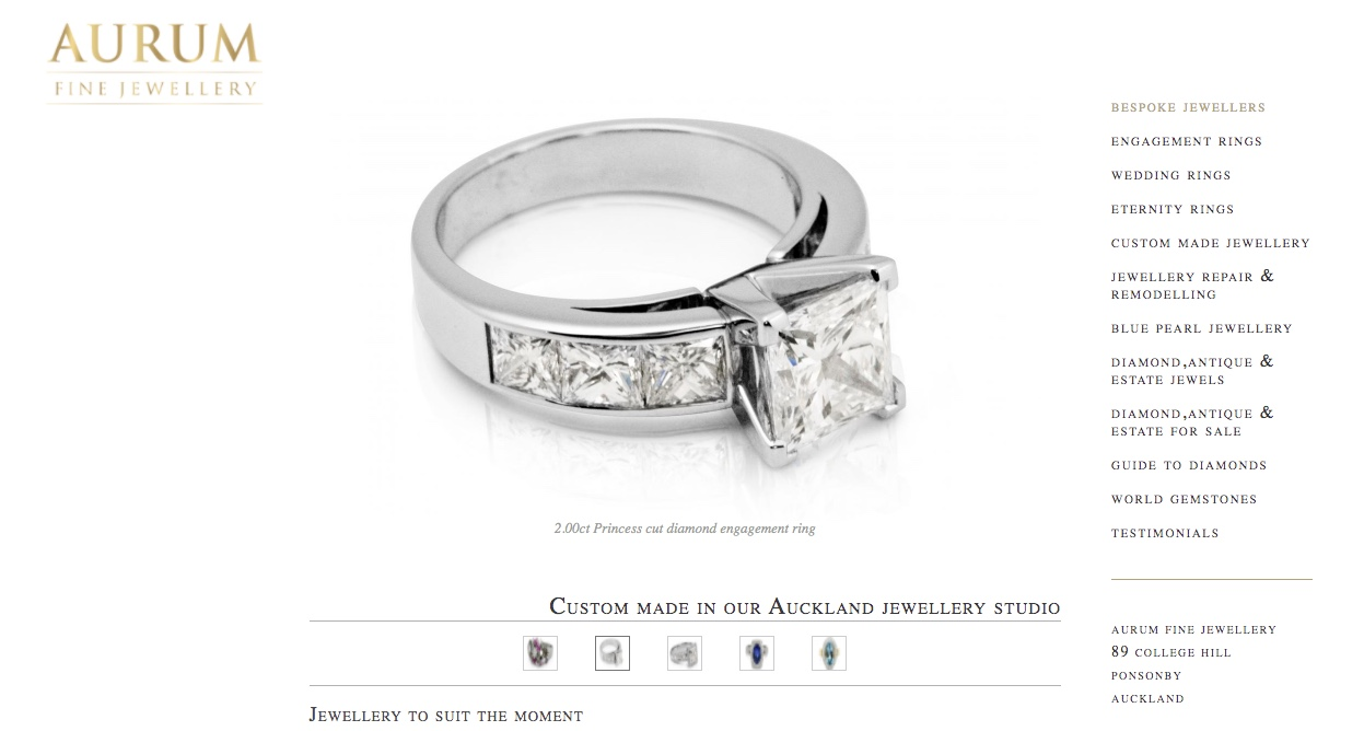 Aurum Fine Jewellery - Wedding and Engagement Rings New Zealand