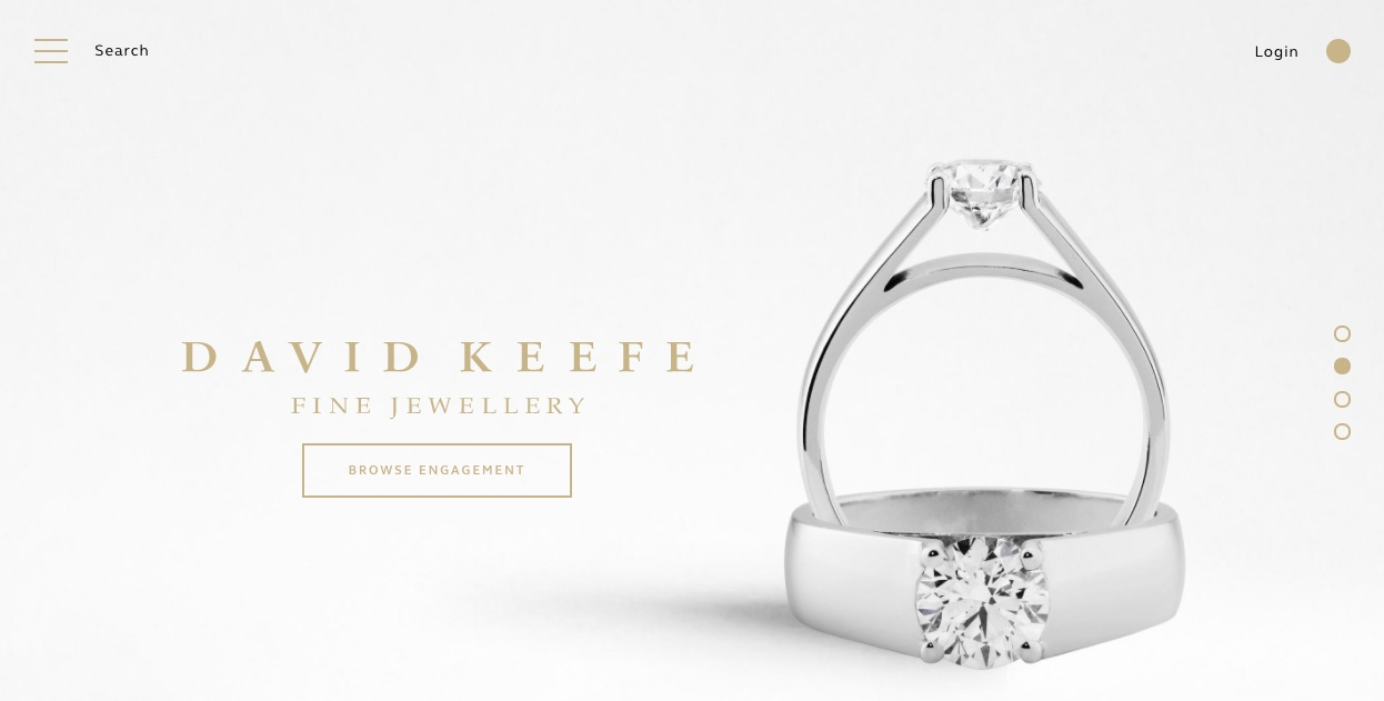David Keefe Fine Jewellery - Wedding and Engagement Rings New Zealand