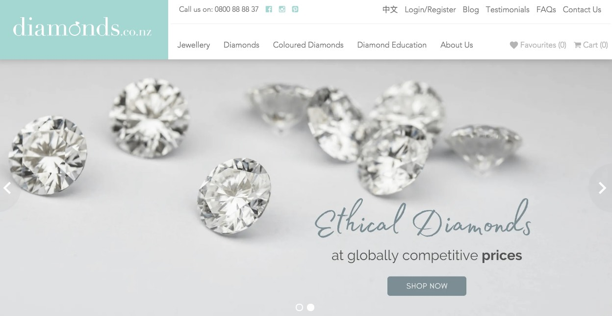 Diamonds.Co.NZ Wedding and Engagement Rings New Zealand