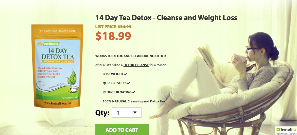 HInt Wellness - Detox Cleanse Drink