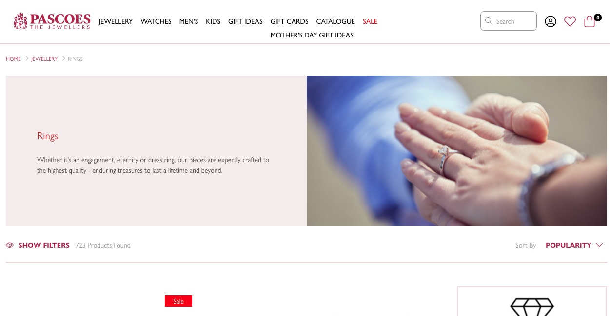 Pascoes The Jewellers - Wedding and Engagement Rings New Zealand