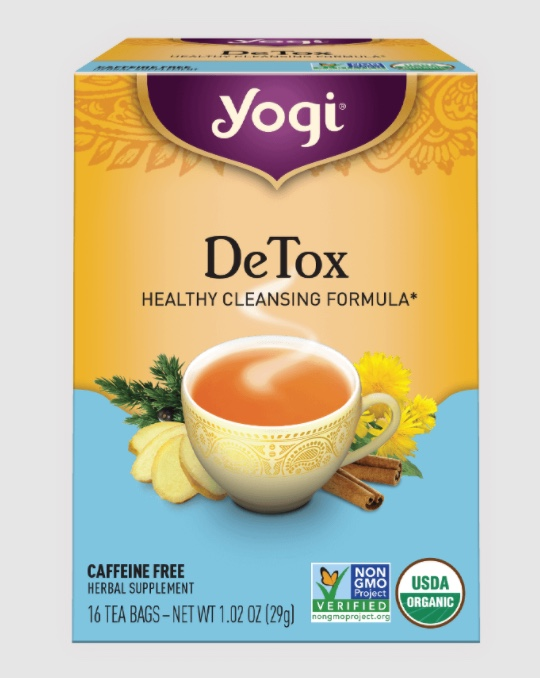 Yogi Detox Cleanse Drink