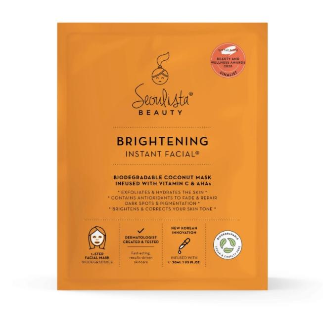 Seoulista Beauty Skin Brightening Face Mask