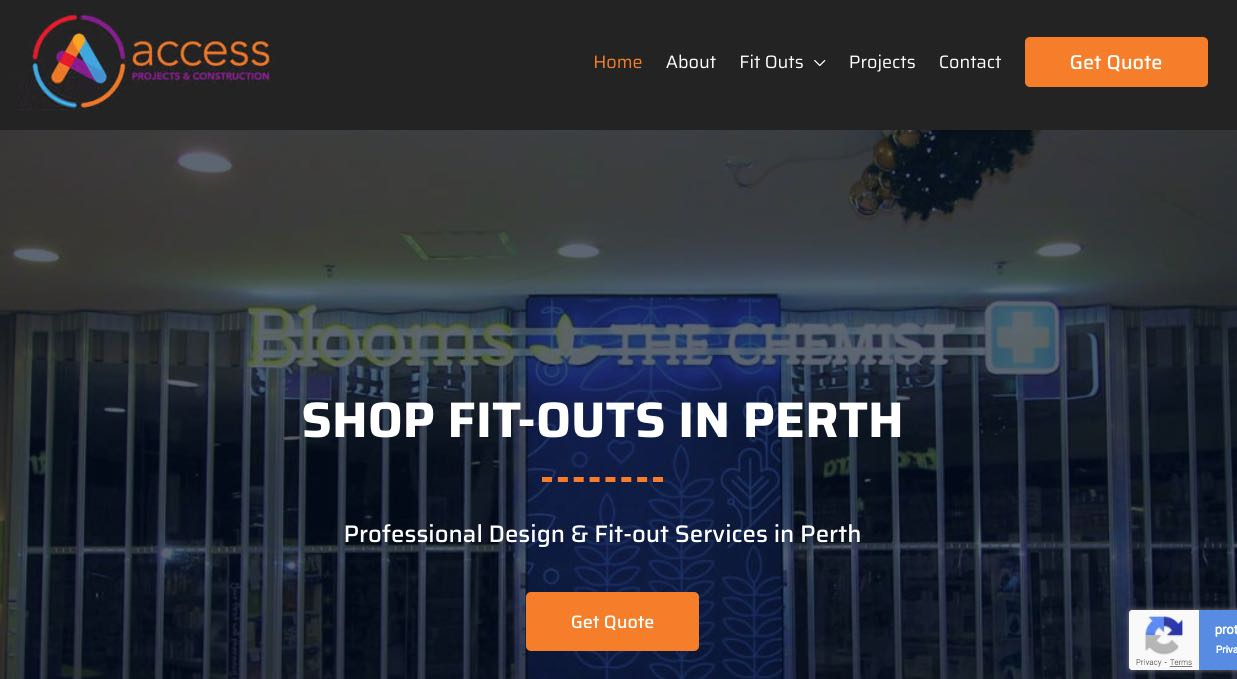 Access Projects and Construction- Fit Out Companies in Perth
