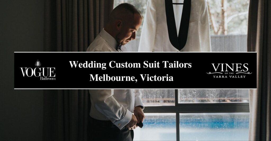 Wedding Custom Suit Tailors Melbourne, Victoria- COSMO