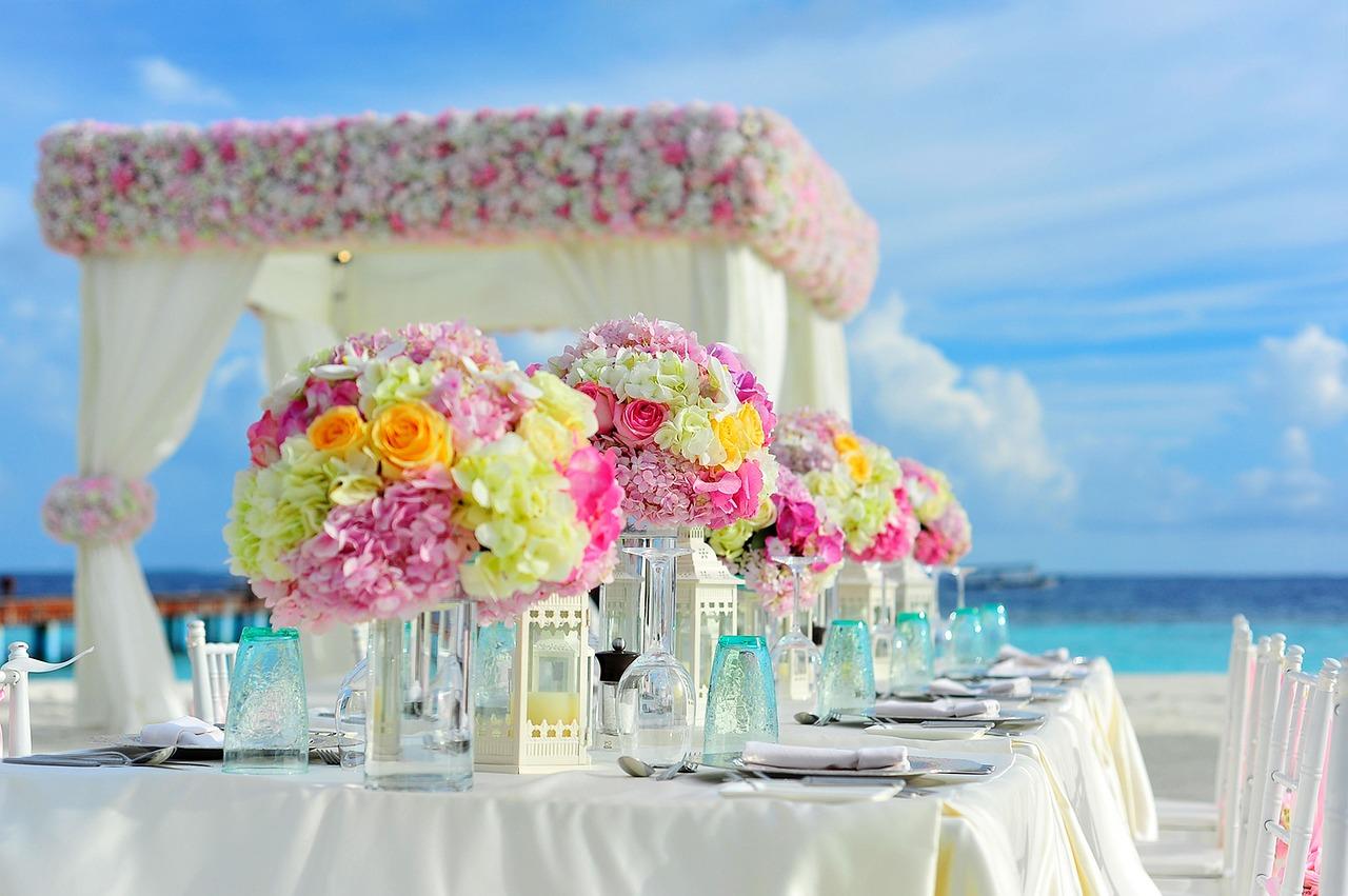flowers-beach-wedding